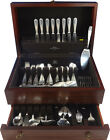 Palm Beach by Buccellati Sterling Silver Flatware Set 8 Service Italy 93 Pc
