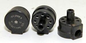 Lot of three off IFF Socket type 105, 10H/256B (GB2)