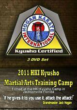 3 Dvd Set Kyusho Jitsu Martial Art Seminar - How to Control Opponent - 9 masters
