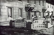 Boujailles ( Doubs ) l 'hôtel du Jura-Vert . photo ancienne