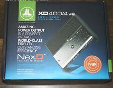 "JL AUDIO XD400/4v2 400W CLASS D 4-CHANNEL NexD AMPLIFIER ""BRANDNEW"""