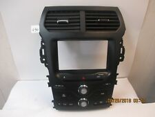 2014 Ford Explorer Radio Bezel with 8 in Opening and Temp Controls DB5T-18A02-EK