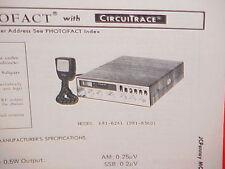 1978 JCPENNEY CB RADIO SERVICE SHOP MANUAL MODEL 681-6241 (981-8360) JC PENNEY