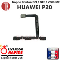 Nappe bouton ON OFF HUAWEI P20 power button volume up down flex cable ribbon