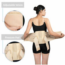 Double Pull Magnetic Lumbar Lower Back Support Belt Brace Pain Relief - M
