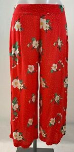 Ladies New Ex George Floral Culottes size 8 10 12 16