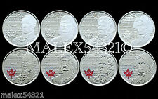 *** 2012(-2013) WAR OF 1812 25 CENT SET UNC ***     >>FREE $HIPPING IN CANADA!<<