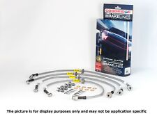 GOODRIDGE 2005-2013 CHEVY CORVETTE C6 STAINLESS STEEL SS BRAKE LINES LINE KIT