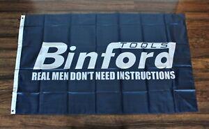 Binford Tools Banner Flag Tim Allen Taylor Hardware Store Garage Shop Man Cave