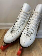 Beautiful Don Jackson Figure Skates - Leather Czech Made - DJ700 Novice II Model
