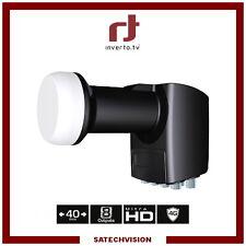 LNB Octo Inverto Black Pro 0,2 dB Gain 65 dB Tête 8 Sorties Full HD 3D UHD