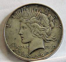 1922 D Peace Dollar     (C)