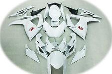 Aftermarket ABS fairings fit for Suzuki gsxr600/750 06-07 2006 2007 Gloss white