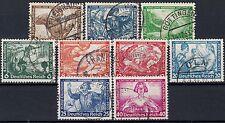 === DR Drittes Reich  Mi. 499-507 komplette Ausgabe gest., Kat. 380€ ===