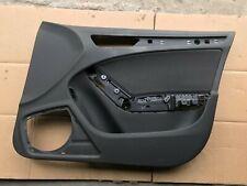 AUDI A4 B8 8K RHD FRONT RIGHT SIDE DOOR CARD TRIM PANEL BLACK CLOTH 8K1867106