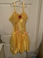 Leg Avenue Disney Belle Sexy Costume Adult Size Medium Yellow Dress