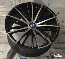 4 Alufelgen für BMW 8,5x19 Silber,  schwarz poliert konkav, concave neu 1er BMW