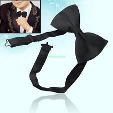 Adjustable Formal Wedding Groom Tuxedo Suit Pre Tied Dicky Bow Tie Bowties Black