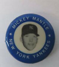 1969 Mickey Mantle New York Yankees Button Pin Pinback