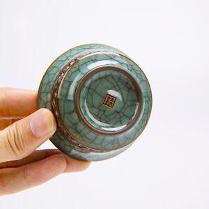 China tea cup relief master cup porcelain kungfu tea cup longquan celadon teacup