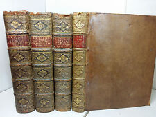 Greece Greek & Latin 1743-1746 4vol Luciani Samosatensis Opera Lucian Samosata