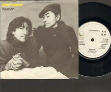 "JOHN LENNON Woman 7"" SINGLE 1981 YOKO ONO Beautiful Boys"