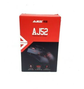 Ajazz AJ52 Watcher RGB Gaming Mouse Programmable 7 Buttons Ergonomic LED USB