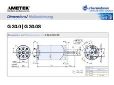 24v Metek PLG 32 400: 1 permanente magnetico epicicloidale motore alta coppia ***