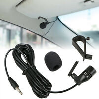 3.5mm Microphone External Mic For Car Stereo GPS Bluetooth Pro Audio Equipment