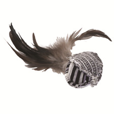 Turbo Feather Ball Catnip Toy for Cats