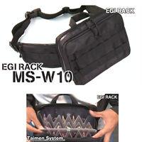 New DAIICHISEIKO Egi Bag Case Squid Jig Pouch Waist Bags W-10 Portable Rack #A1