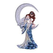Memory Winged Fairy Sitting on The Moon Collectible Figurine