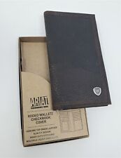 ARIAT GENUINE LEATHER RODEO WALLET/CHECKBOOK COVER