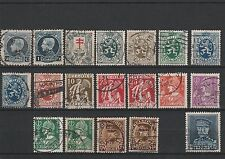BELGIUM - ASSORTED  USED STAMPS