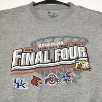 2012 NCAA Mens Basketball Championship Final Four Adult Graphic T Shirt Medium M
