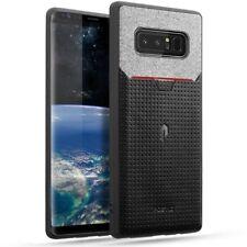 Poetic Nubuck【Credit Card Slot Pull-Tab】TPU Case For Samsung Galaxy Note 8 Black