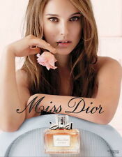 AFFICHE DIOR NATALIE PORTMAN 4x6 ft Shelter Original Fashion Luxury Poster