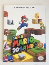 Super Mario 3D Land Premiere Edition Prima Official Game Guide 2011