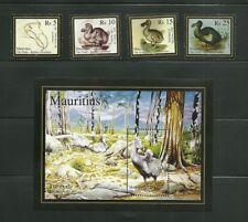 MAURITIUS.THE DODO FULL SET& Rs25SOUVENIT SHEET, UNMTD MINT, MNH.25 JUNE 2007