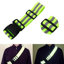 High Visibility Reflective Safety Security Belt Running Jogging Walking Biking