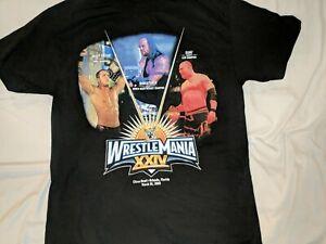 Vintage VTG WWE Wrestlemania XXIV 24 2008  Shirt Large Orlando Florida New! Kane