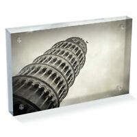 """Photo Block 6 x 4""""  - Leaning tower of Pisa Italy  #45530"""