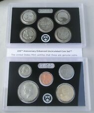 USA US Mint 225th Anniversary Enhanced Uncirculated Coin Set 2017 S