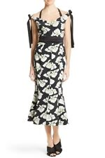 NWT WOMEN Cinq a Sept Blakely Floral-Print Mermaid Dress size 0 $530