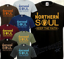 T-shirt NORTHERN SOUL - Rhythm'n'Blues Sixties 60's Mod Motown Stax Funk UK