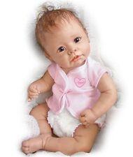 Ashton Drake LITTLE ANGEL Baby Girl Doll By Linda Murray