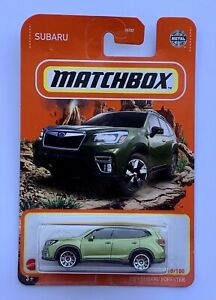 Matchbox Subaru Forester SK Sport CVT X-Mode Turbo Hybrid AWD SUV Jdm Oem