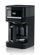 Coffee Maker Brewer Pot Braun Brew Sense Drip Black 24 Hour Timer 12 Cup Pot