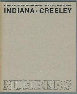 Robert Indiana Robert Creeley Numbers 1968 Buch im Schuber Sehr guter Zustand!