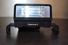 FLASH pour appareil photo instantané POLAROID Polatronic 5 (testé : fonctionne)